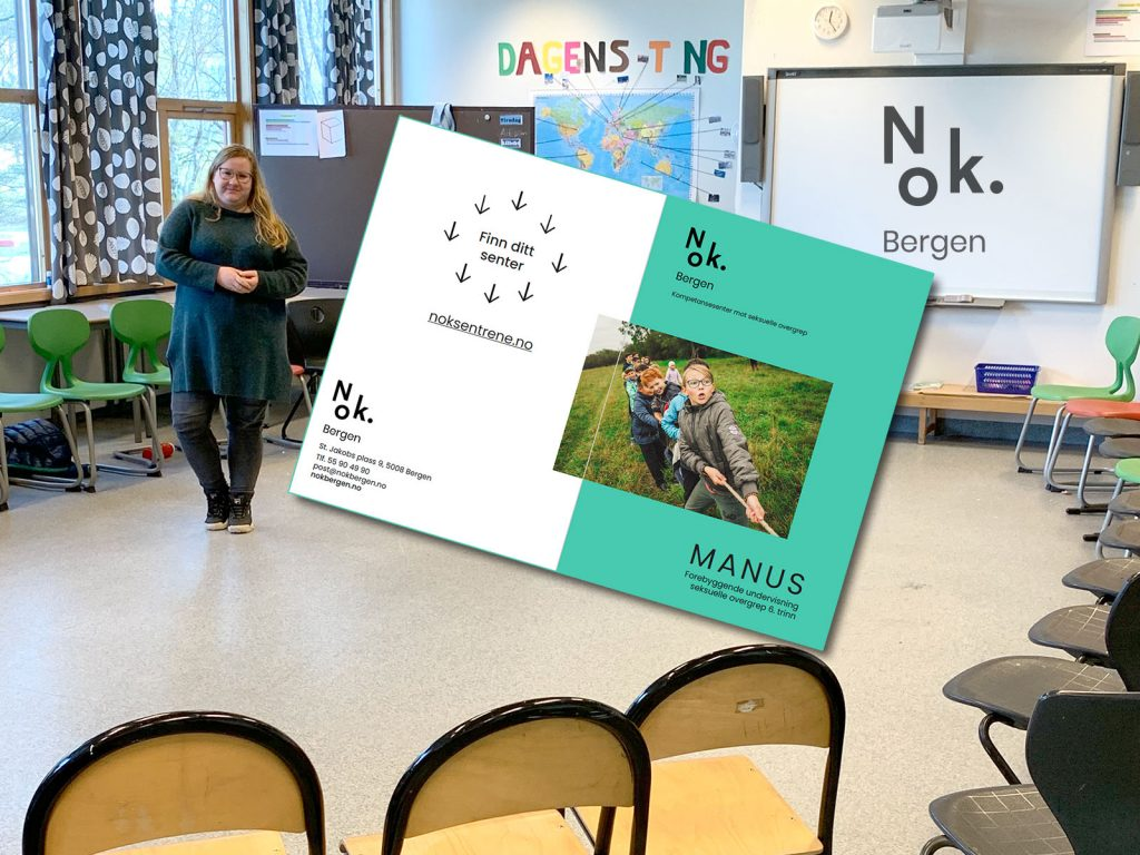 Illustrasjon fra klasserom