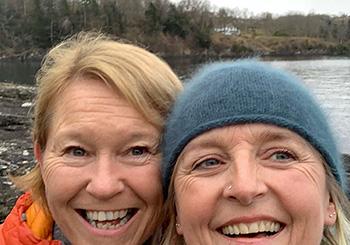 Bilde av Kjersti og Lillian